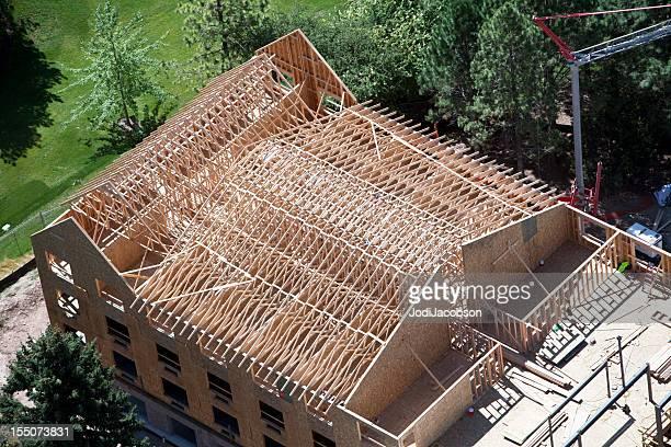 Luftbild der neuen Wohnung Design