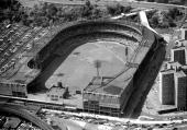 Aerial of Polo Grounds