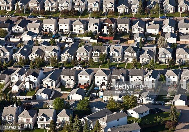 Aerial of Residential Neighbourhood
