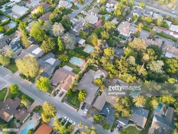 Aerial of Suburbia