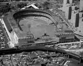 Aerial of the Polo Grounds