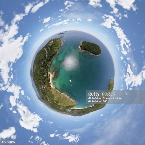 360° Aerial Panorama of Rawai Beach in Phuket