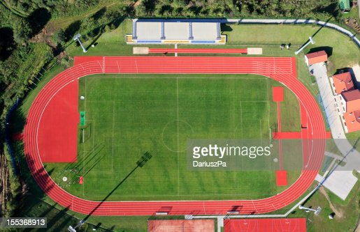 Aerial Foto-Stadion in Gniewino