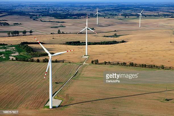 photo aérienne de vent Farm