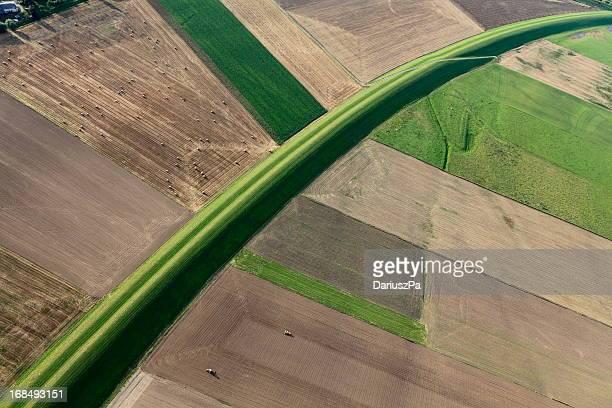 photo aérienne Vistule Inondation Quais de la Tamise