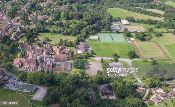 KINGDOM AUGUST 2017 Aerial photograph of Mayfield School formerly known as St LeonardsMayfield School on August 20th 2017 This independent boarding...