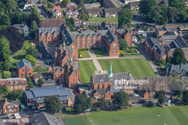 KINGDOM JUNE 2017 Aerial photograph of St John's School Leatherhead on June 14th 2017 This coeducational Independent school dates back to 1851 it is...