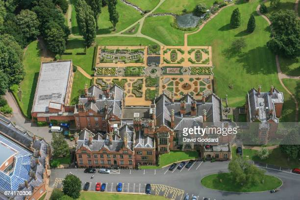 KINGDOM JULY 28 Aerial photograph of the grade 2 listed Welcombe House also know as the Welcome Hotel on July 28 2010 This NeoJacobean style mansion...