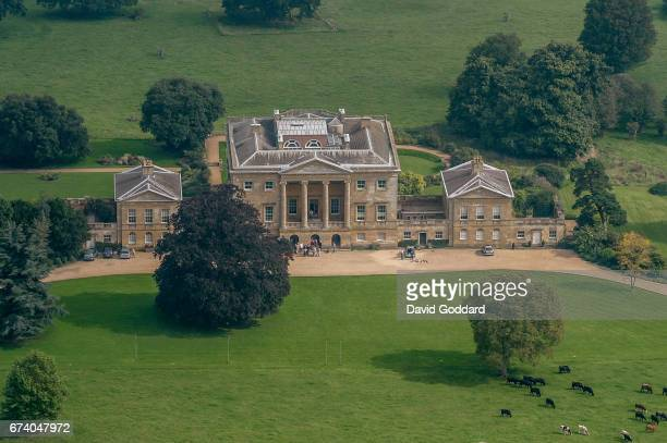 KINGDOM SEPTEMBER 18 Aerial photograph of the grade one listed Basildon Park on September 18 2010 This Palladian style country house was built in...