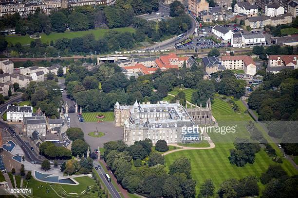 Aerial photography of Edinburgh, Scotland