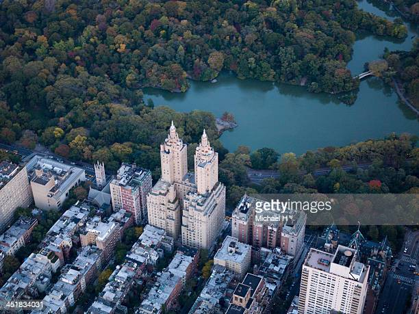 Aerial photography of  Manhattan