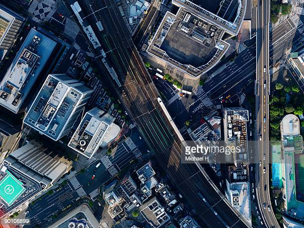 Aerial photography of Sukiyabashi