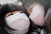 aerial pollution Shanghai China