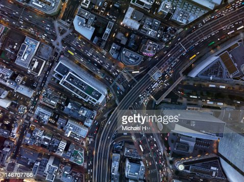 Aerial shoot : Stockfoto