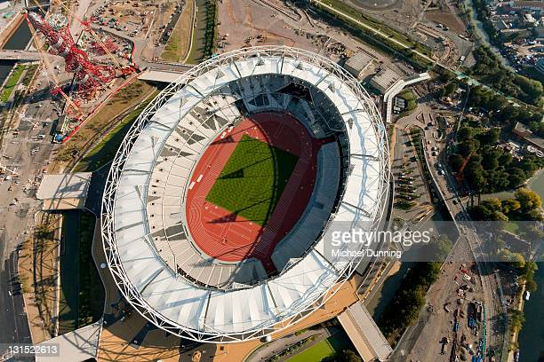 Aerial shot of Olympic Site and Stadium