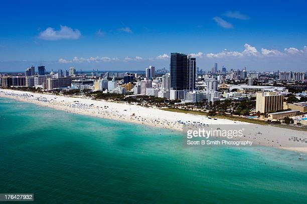 Aerial The Setai Hotel Miami Beach Florida