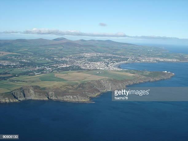 Aerial view Douglas, Isle of Man