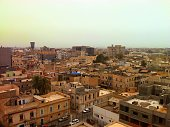 Aerial view from Tripoli, Libya.