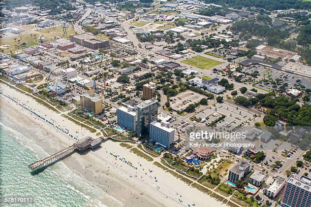 Aerial view, Myrtle beach Boardwalk