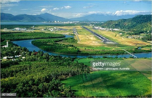Aerial view near Cairns, North Queensland, Australia.