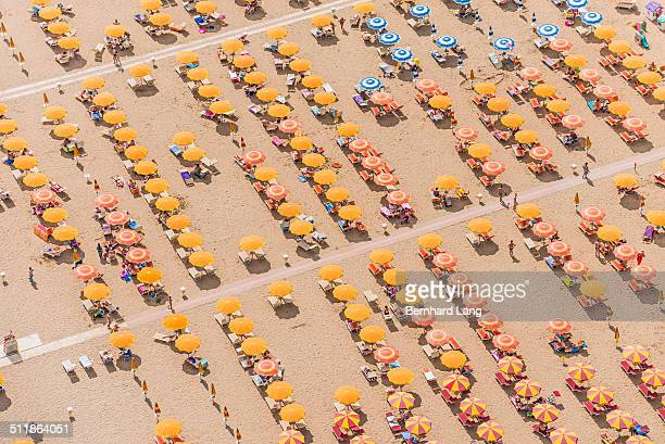 Aerial View of a a beach resort