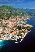 Aerial view of a city, Monte Carlo, Monaco, France