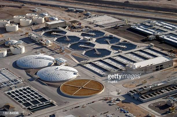 Wasser reclamation plant