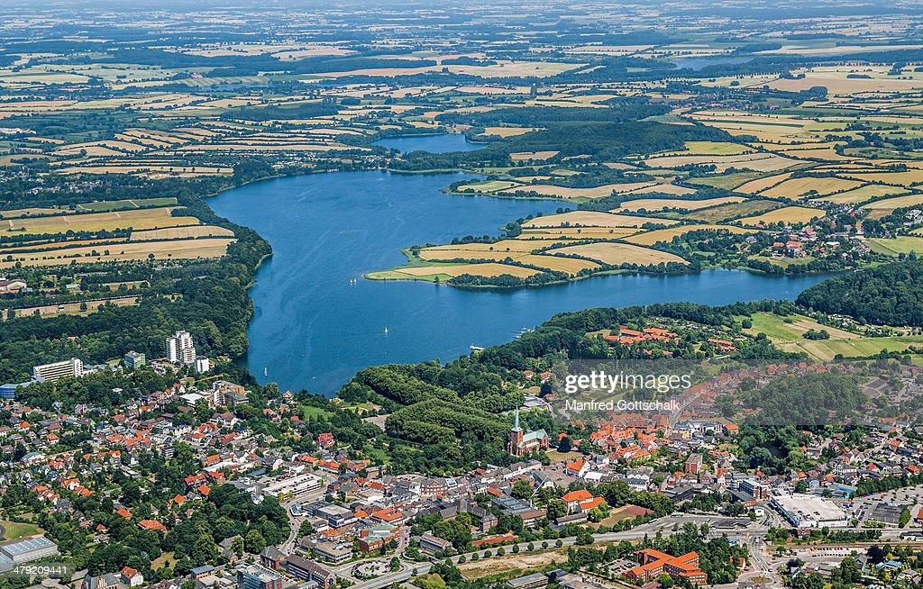 Aerial View Of Bad Segeberg Stock Photo