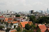 Beautiful top view in Bangkok (Thailand)