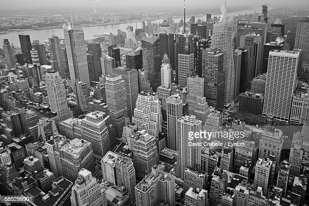 Aerial View Of Brooklyn Cityscape