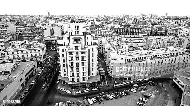 Aerial view of Casablanca