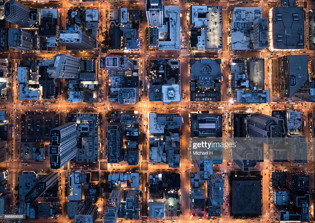Aerial View of Chicago, IL, USA : Stock Photo