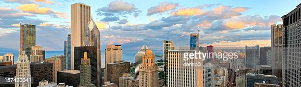 Aerial View of Downtown Chicago (XXXL)