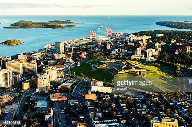 Aerial View of Downtown Halifax