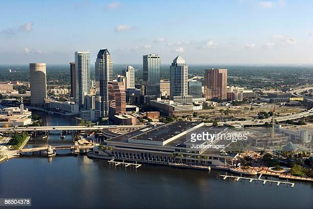 Aerial view of downtown Tampa, Florida