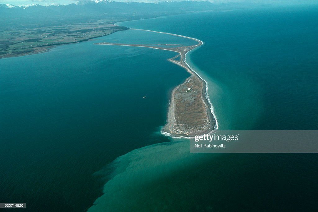 Aerial View of Dungeness Spit