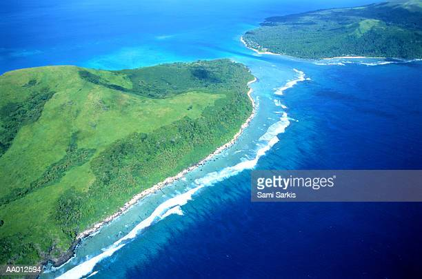 Aerial View of Efate Island