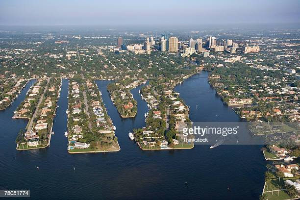 Aerial view of Fort Lauderdale, Florida