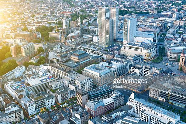 Aerial View of Frankfurt, Germany