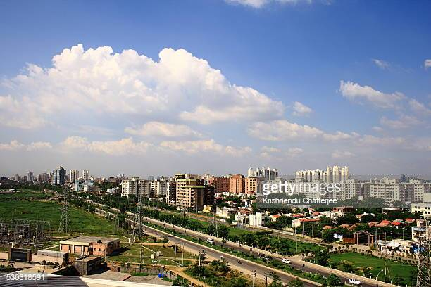 Aerial View Of Gurgaon