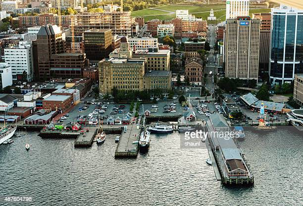 Aerial View of Halifax Waterfront