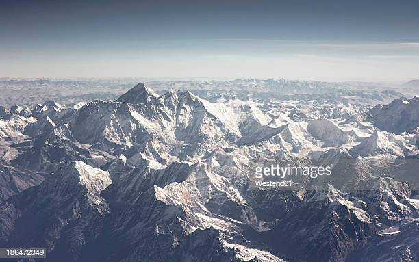 Aerial view of Himalayas
