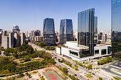 Aerial View of Itaim Bibi in Sao Paulo, Brazil