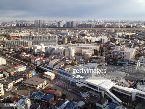 Aerial view of Kashimada in the morning