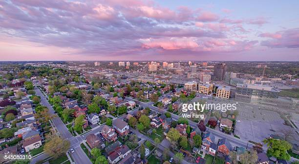 Aerial View of Kitchener Downtown