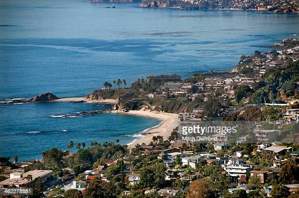 aerial view of Laguna Beach