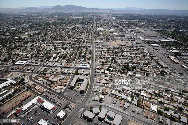 Aerial view of Las Vegas from the Stratosphere