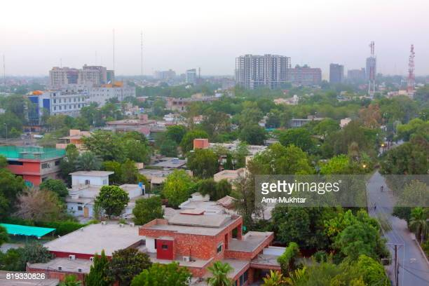 Aerial View Of Liberty, Lahore, Pakistan