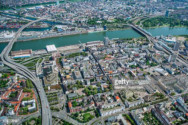 Aerial view of Ludwigshafen