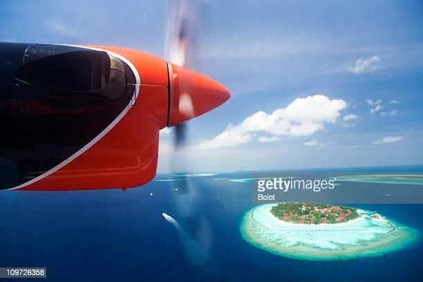 Veduta aerea di Isole Maldive